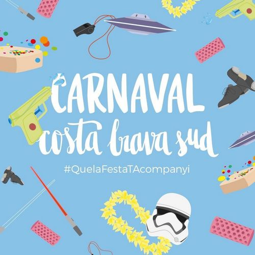 Carnaval costa Brava sud 2017 lloret, blanes, tossa de mar
