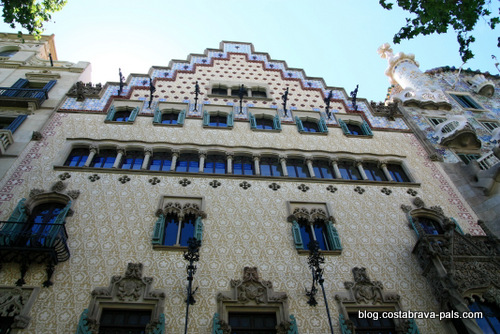 modernisme à Barcelone - casa amatller