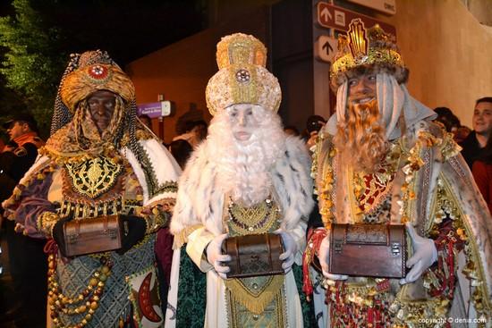 défilé rois mages Costa Brava