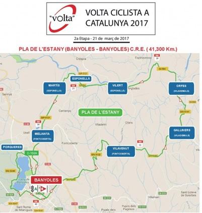 Tour de Catalogne 2017 - 2ele étape