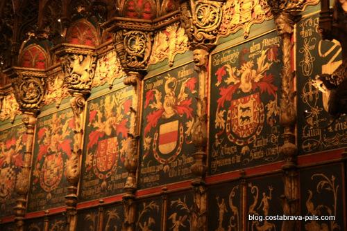 quartier gothique de Barcelone - cathédrale de Barcelone