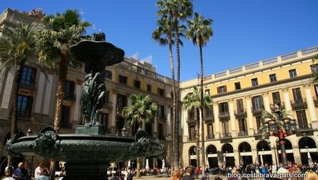 guide gaudi à barcelone - Palca reial