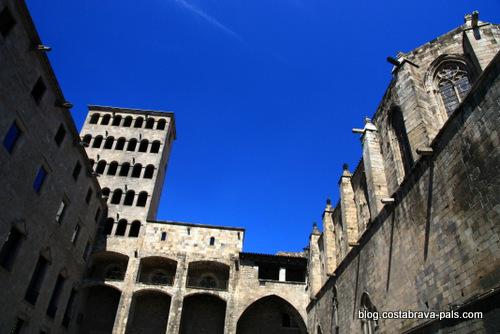 quartier gothique de Barcelone - placa del rei