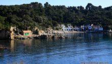 cabanes de pêcheurs sur la Costa Brava - s'alguer