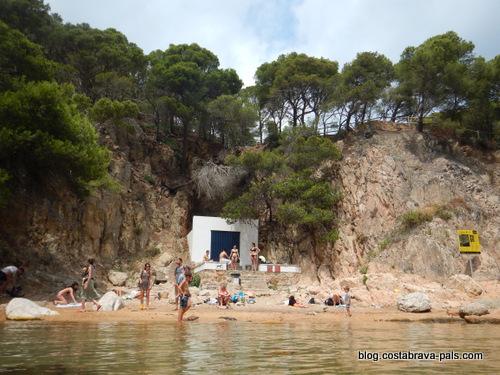cabanes de pêcheurs sur la Costa Brava - Aiguaxelida