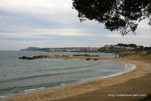 Plage du Moll Grec - plages del'escala