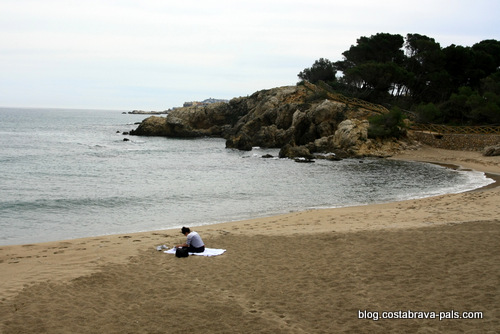 plages de l'escala - plage du Portitxol