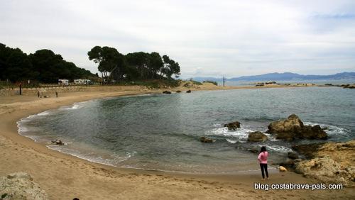 plages de l'escala - plage de les Muscleres