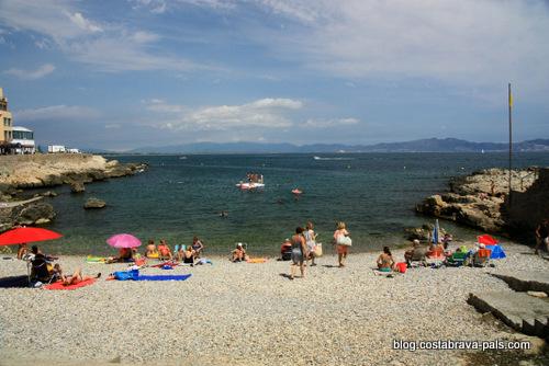 plages de L'escala -platja d'en perris - L'escala plage