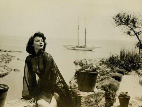 Ava Gardner sur la Costa Brava tossa de mar