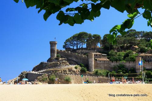 plage à Tossa de Mar - Platja Gran