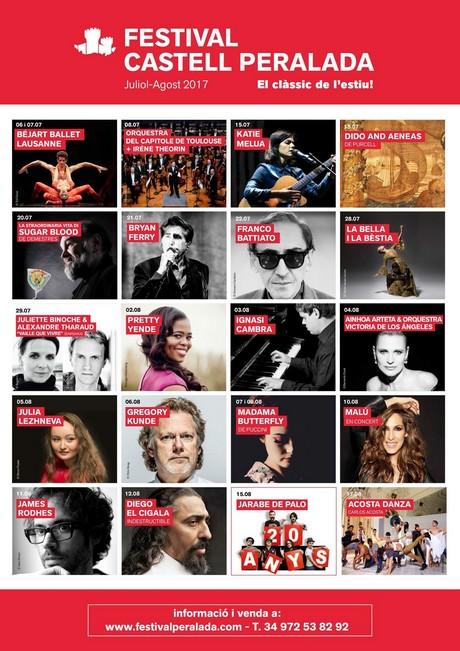 Festival Castell Peralada 2017 - festivals Costa brava 2017