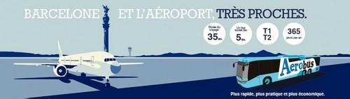 Transports aéroport de Barcelone au centre-ville Aerobus