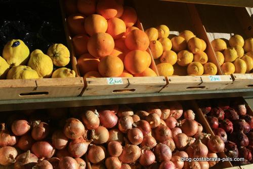 Les marchés de la Costa Brava