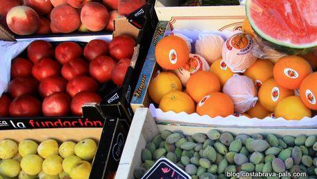 Les marchés de la Costa Brava - produits