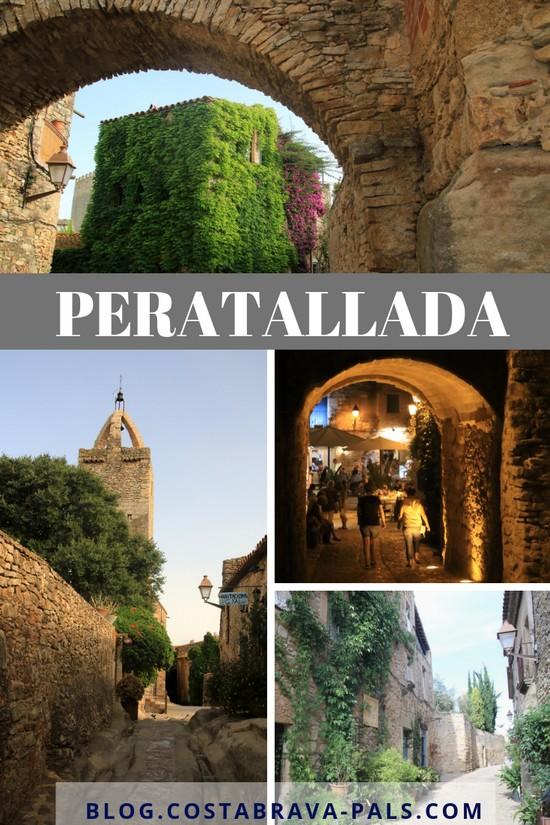 PERATALLADA village de la Costa Brava catalogne