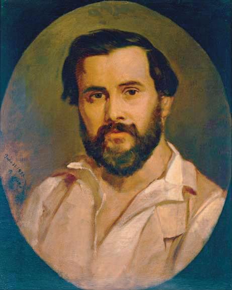 Portrait Narcís Monturiol 1855 -by-Ramon-Martí