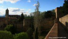 Que faire à Gérone, découvrir les lieux d'intérêts à Gérone la muraille