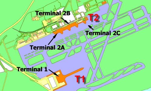 Plan Aéroport de Barcelone