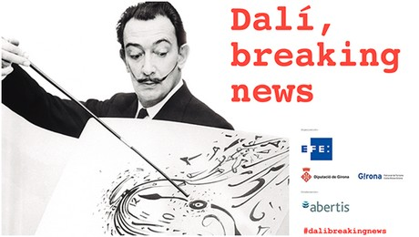 Dali Breaking News à Barcelone