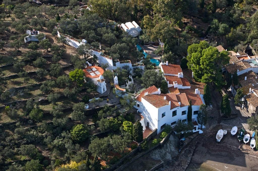 Maison de Dali vue du ciel - Athus Bertrand
