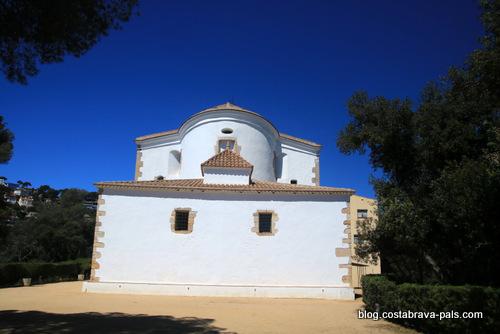 L'Ermitage de Santa Cristina à Lloret de Mar - le temple