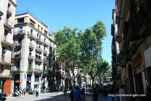 El Born à Barcelone - passeig del born