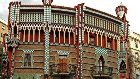 casa Vicens à Barcelone Gaudi