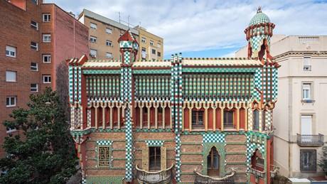 Guide Gaudi à Barcelone - casa vincens