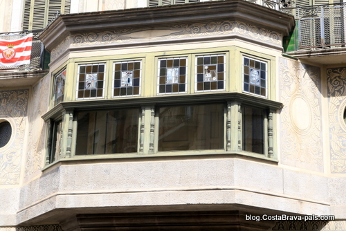 casa Corominas - Itinéraire Rafael Maso, modernisme à Gérone
