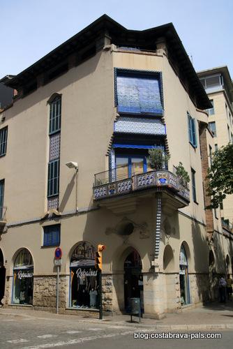 Casa Gispert Saüch - Itinéraire Rafael Maso, modernisme à Gérone