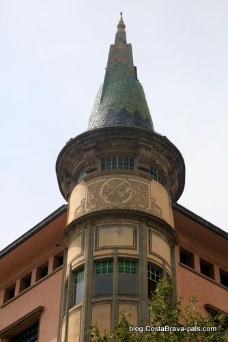 Casa Teixidor - Itinéraire Rafael Maso, modernisme à Gérone