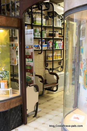 Pharmanie Maso - Itinéraire Rafael Maso, modernisme à Gérone
