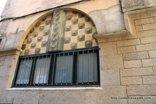 bloc Salieti - Itinéraire Rafael Maso, modernisme à Gérone