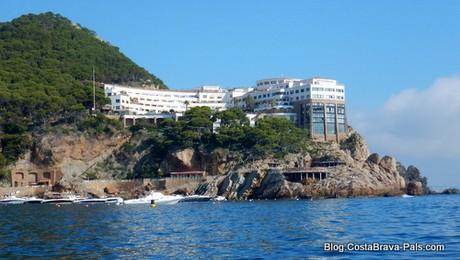L'hôtel Cap sa Sal Begur Aiguafreda