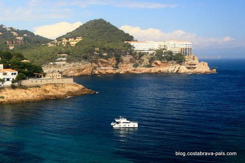 hôtel Cap sa Sal - Begur Costa Brava espagne