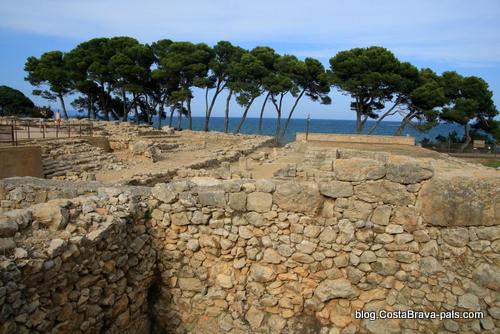 Ruines d'Empuries - la ville grecque