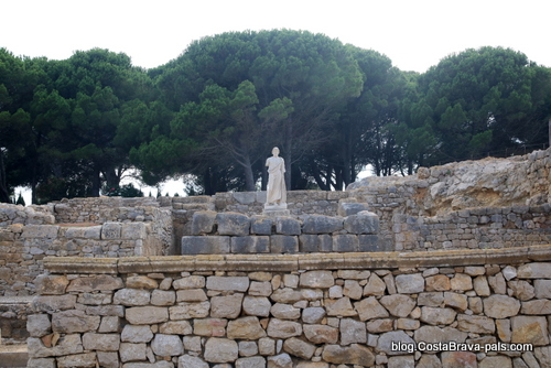 Visiter Empuries - Asclepios