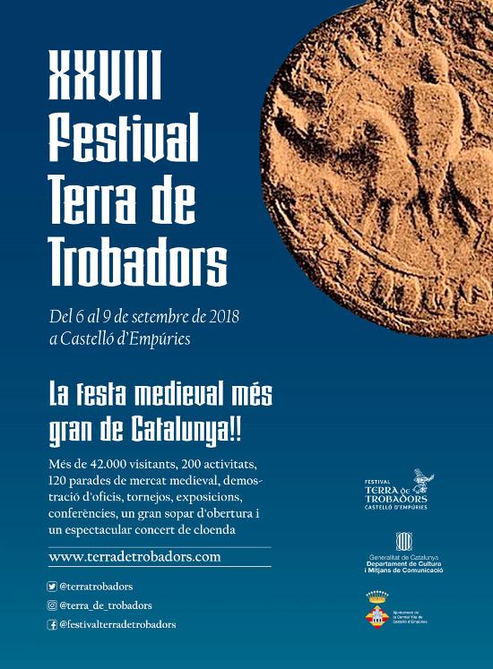 festival médiéval de Castello d'Empuries 2018 - terre de troubadours
