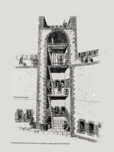 village de Pals espagne - torre d'en ramonet