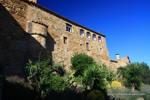village de Pals espagne - vieille maison