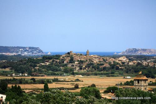 villages médiévaux de la Costa Brava - Pals