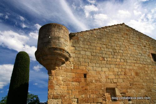 village médiéval de Pals en Espagne - ca la pruna