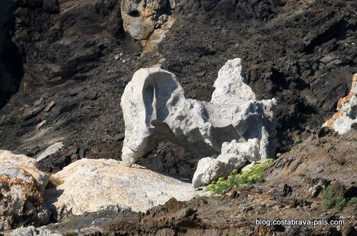 Tudela Cap de creus Catalogne - le rocher Dali