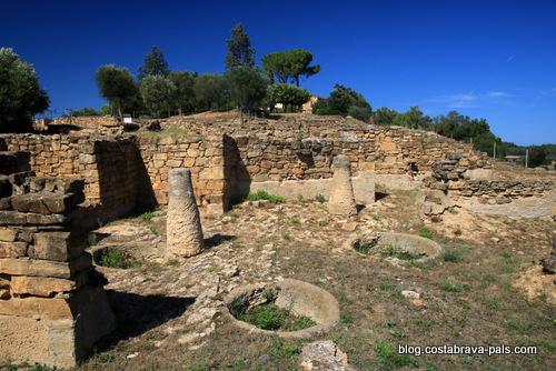 site archéologique d'Ullastret