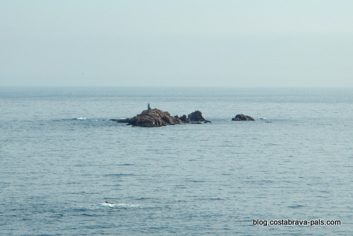 les iles Formigues Palamos - palafrugell
