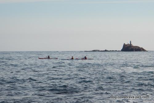 iles Formigues en kayak