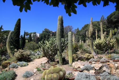 Que faire à Blanes sur la Costa Brava - les jardins
