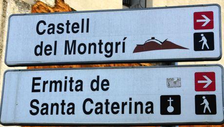 randonnée autour du Castell de Montgri