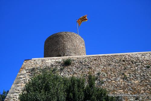 Chateau Sant joan Blanes - Que faire à Blanes sur la Costa Brava